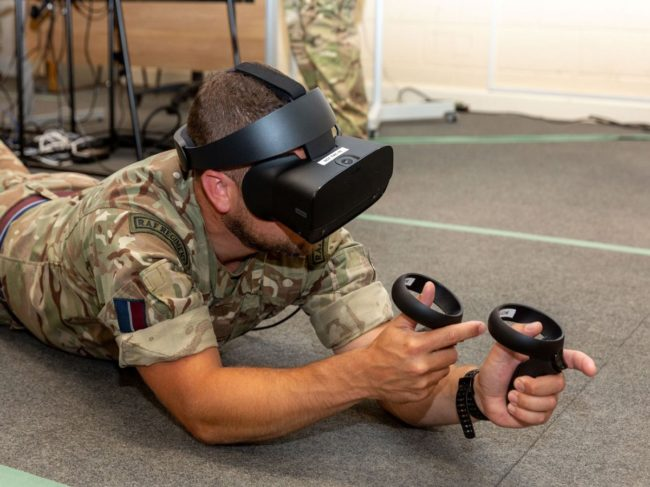 SimCentric Develops Virtual Reality Training Platform