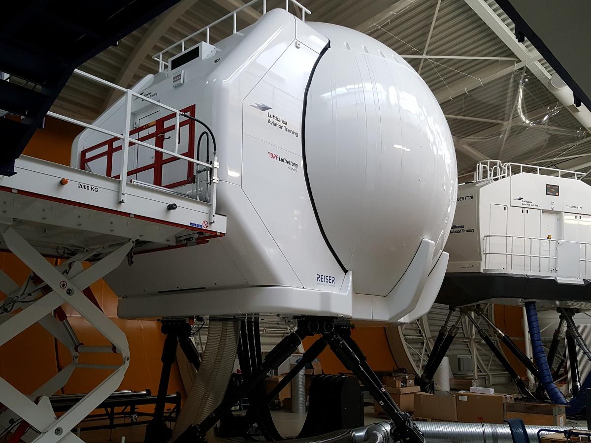 Helikopter simulator 2 credit lat