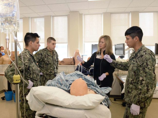 military medical training