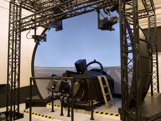 Saab Chooses 3D perception for Fighter Simulators