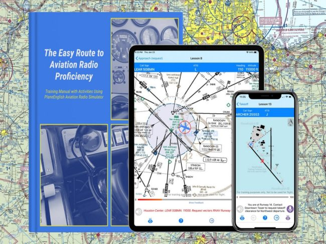PlaneEnglish Radio Simulator Creates More Content for Pilots