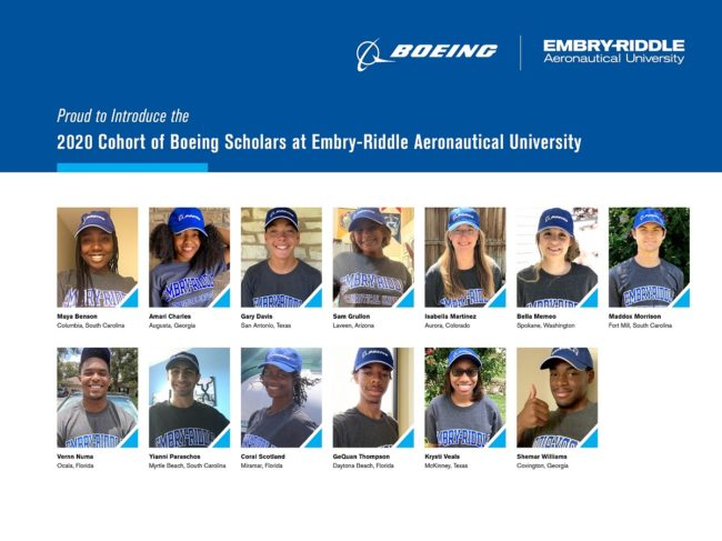 Boeing-Embry Riddle Support Next Generation of Aviation Professionals