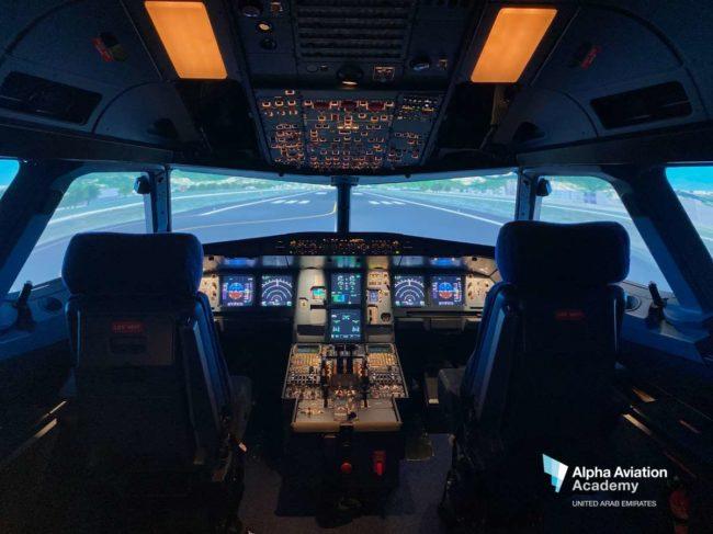 Alpha A320 FSTD