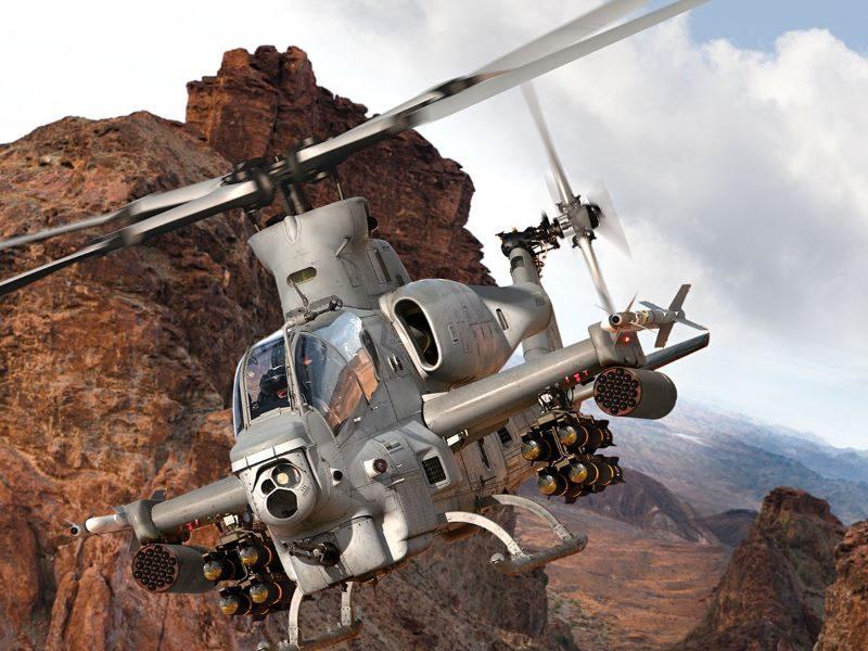 Bell Textron AH-1Z FTD