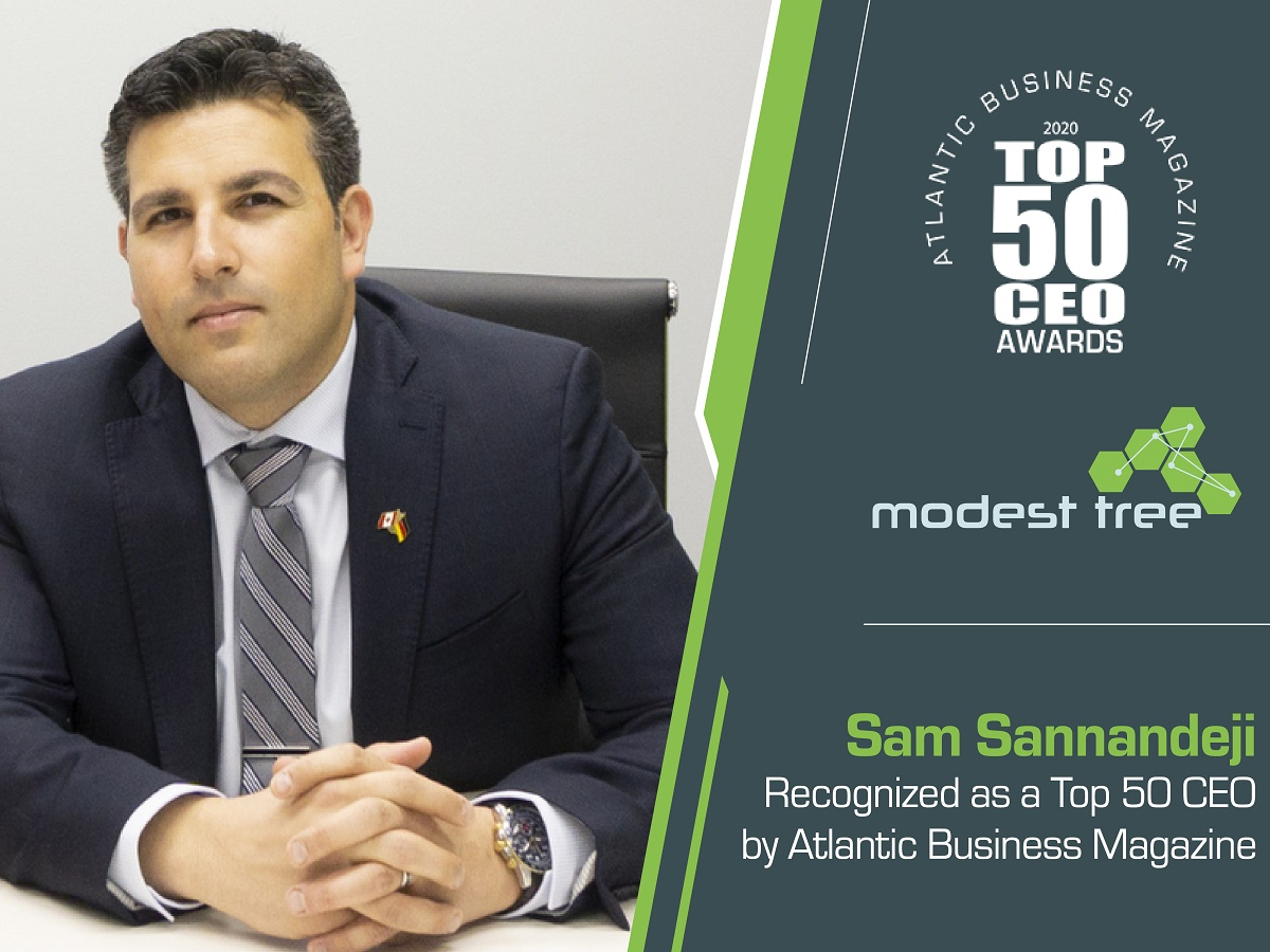 Modest tree top 50 ceo