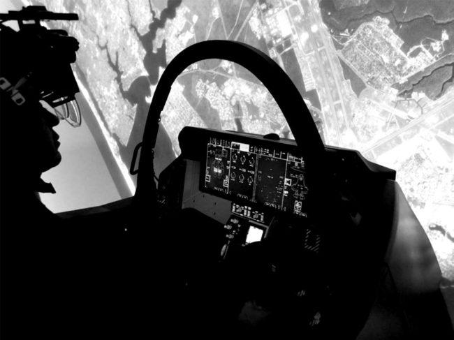 Collins Aerospace F-35 projector
