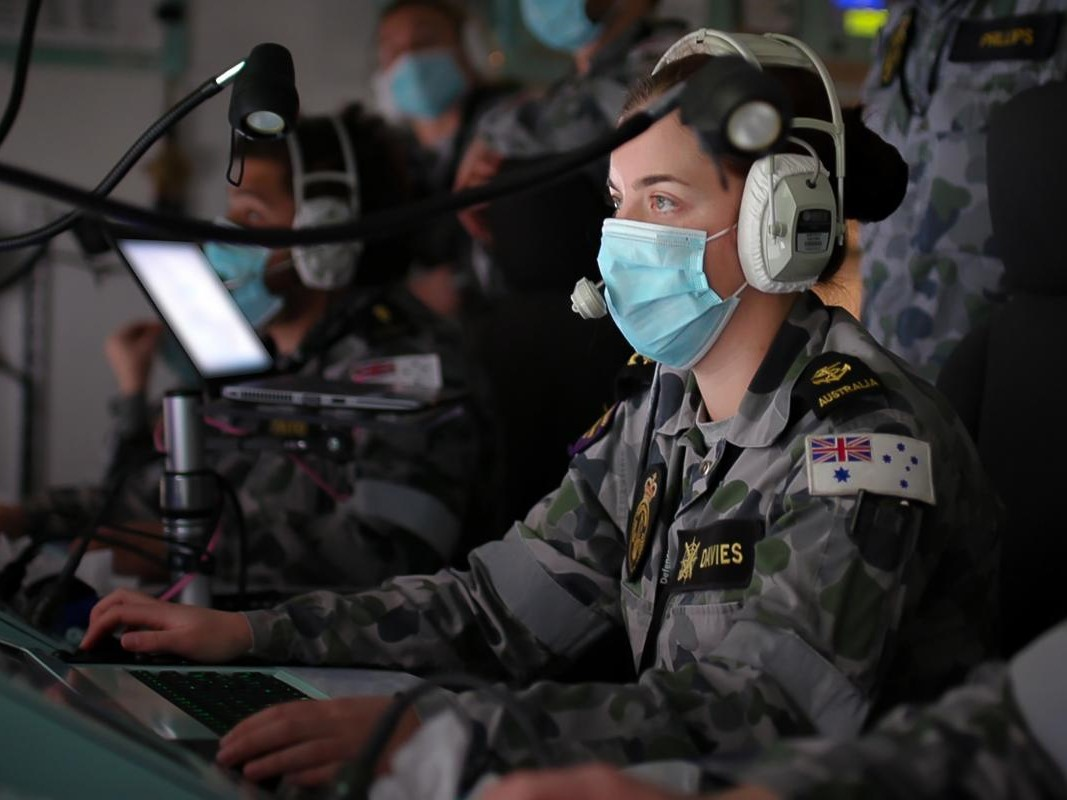 Ran completes simulated sea combat exercise