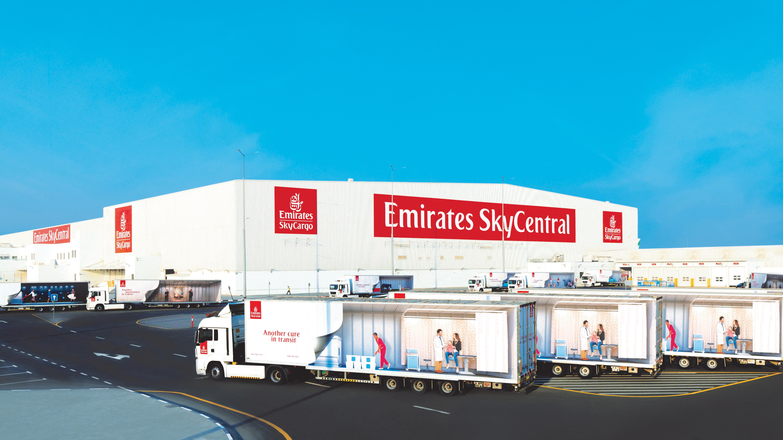 Emirates Prepares Cargo Hub for Potential Covid-19 Vaccine