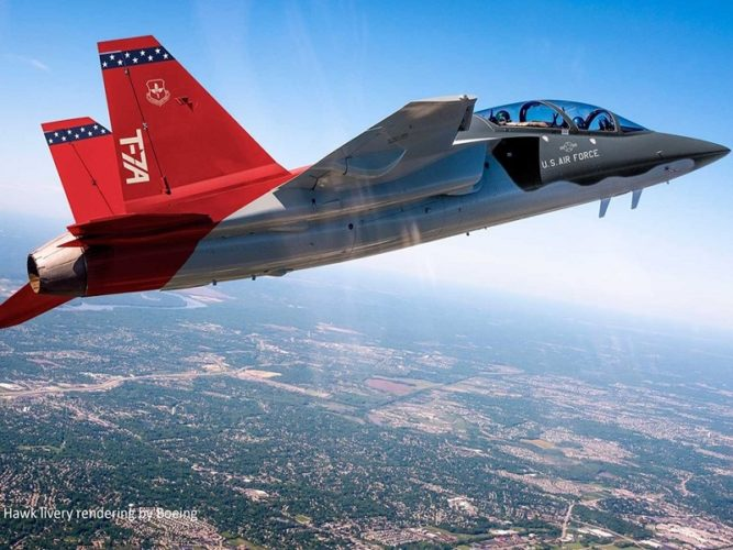 Collins Aerospace Builds On T-7A Red Hawk