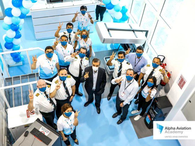New Sim Center for Alpha Aviation Academy