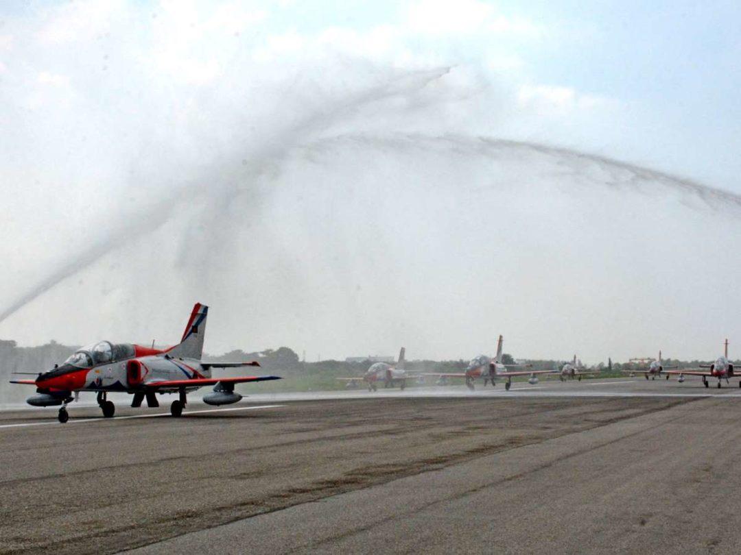 K-8W jet trainers