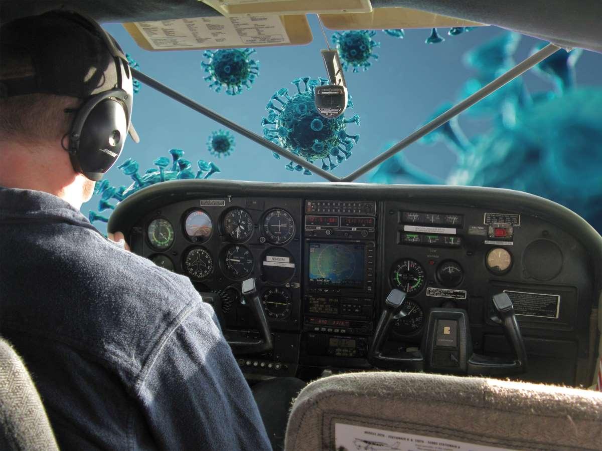 Corona cockpit