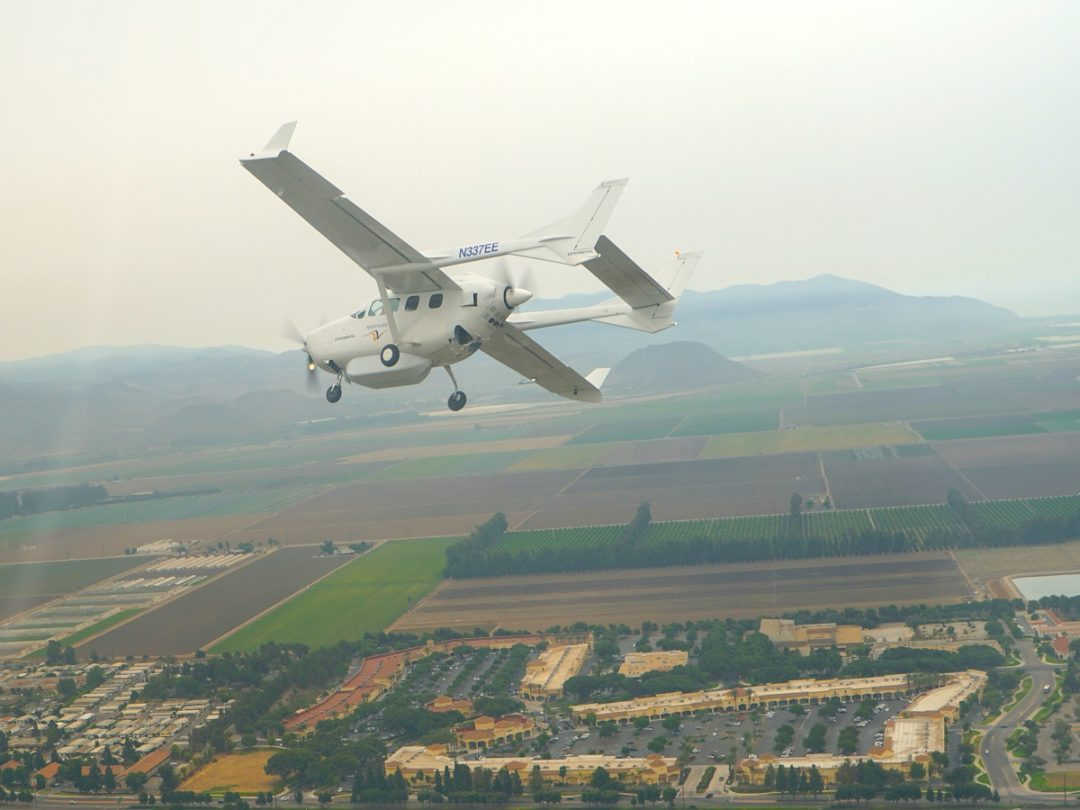 Longest Route for Electrified Aircraft