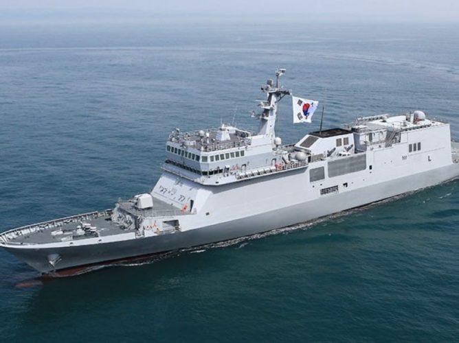 ROKN Training Ship