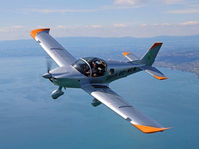 Aero Locarno Sonaca aircraft