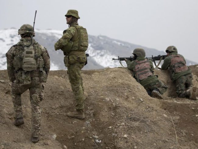 Australian Army mentor Afghan instructors