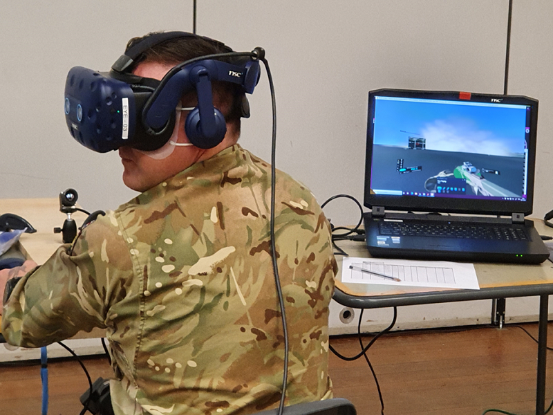 BISim Partners with QinetiQ on VR Solution for British Army