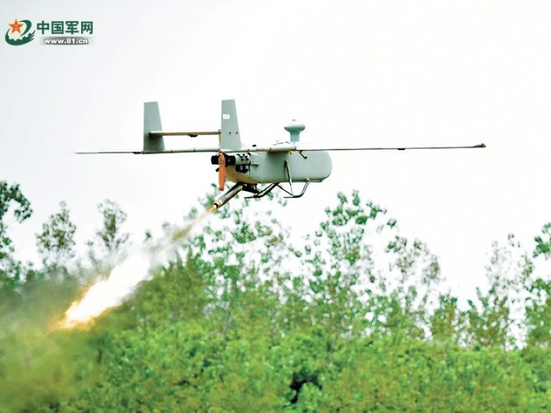 Chinese PLA UAV Operators