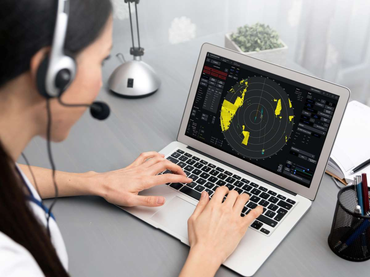K sim navigation radar elearning hr