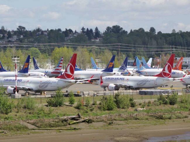 Grounded B737 MAX