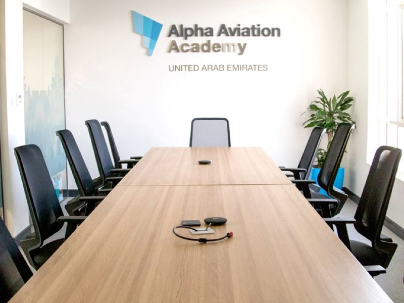 Alpha conference room