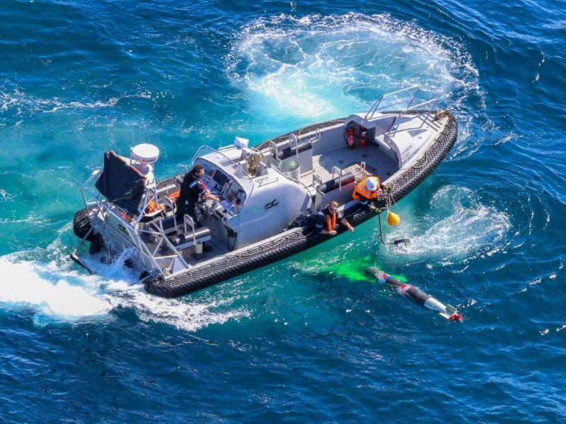 New underwater tracking ranges for australian navy