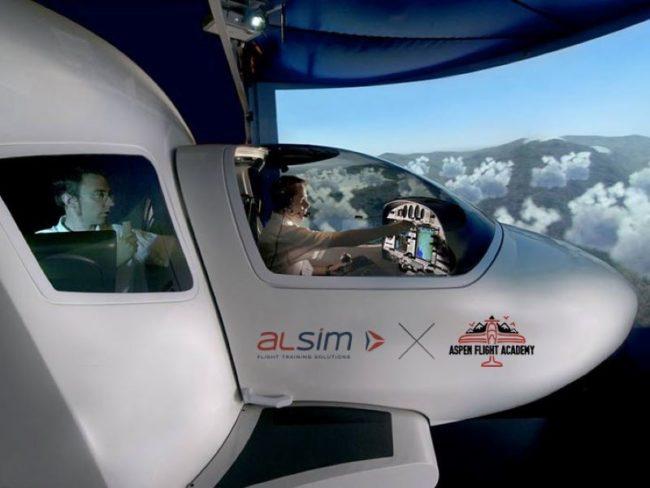 Alsim AL40 Aspen Flight Academy