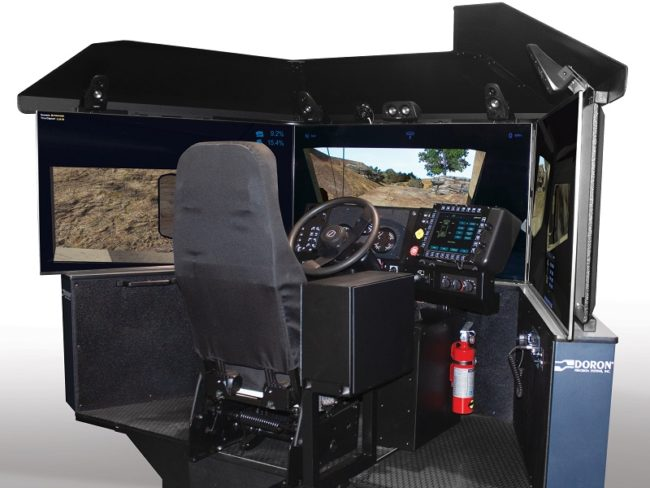 Doron and Oshkosh Defense Team Up for Realistic Driving Sim
