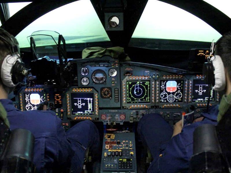 Russian air force receives su 34 simulator