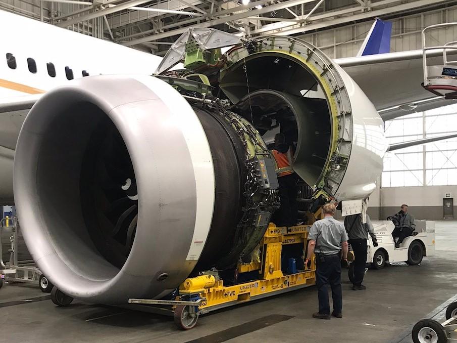 United engine change1