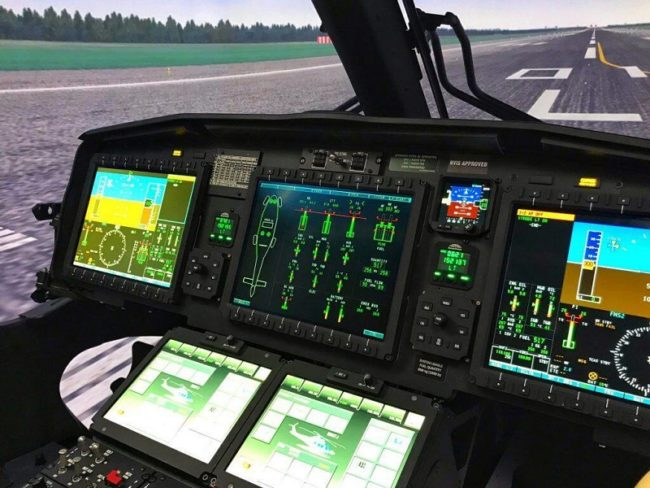 Training in Sight for AW169 Sim Despite Pandemic