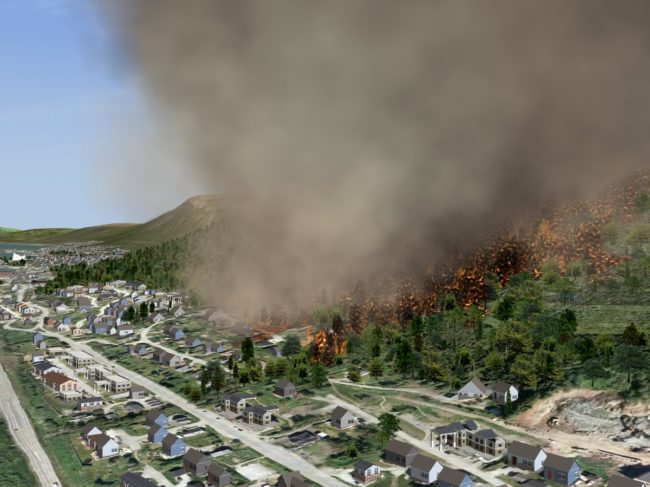 Quantum3D Releases New Suite for Wildfire Simulation