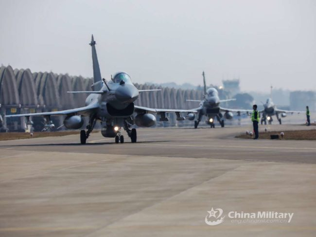 Chinese J10 fighter aircraft