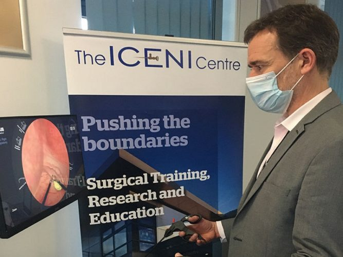 ICENI Centre Takes On New Tech for Surgical Training