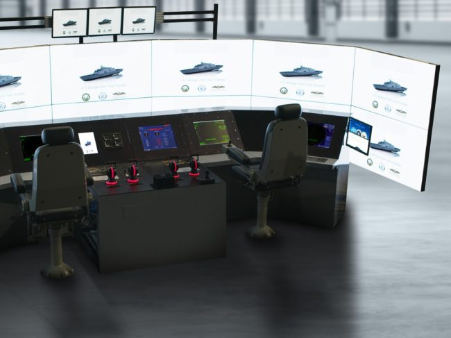 New Joint Venture Anchors in Combat Ship Trainers