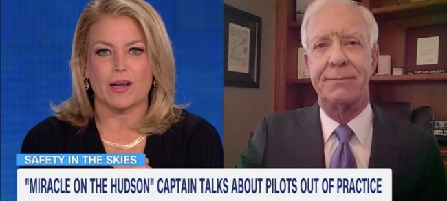 Sully Opines on 'Rusty Pilots' and Flight Simulators