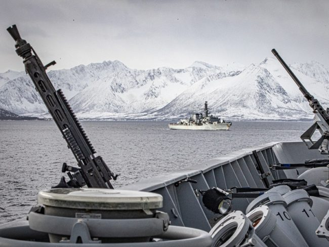 Joint Allied Training in the High North