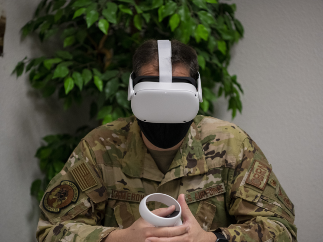 First to Use VR for Suicide Prevention