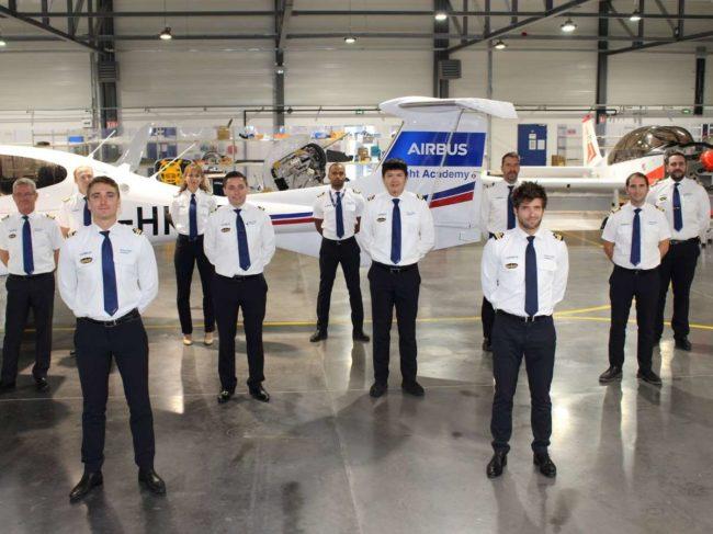 Airbus pilot cadets
