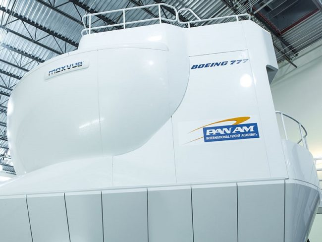 Pan Am Reveals Enhancements to B777 Sim