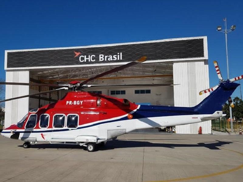 Shell aw139 brasil