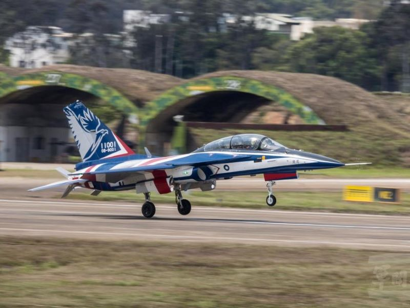 Taiwans new brave eagle jet trainer nears service entry