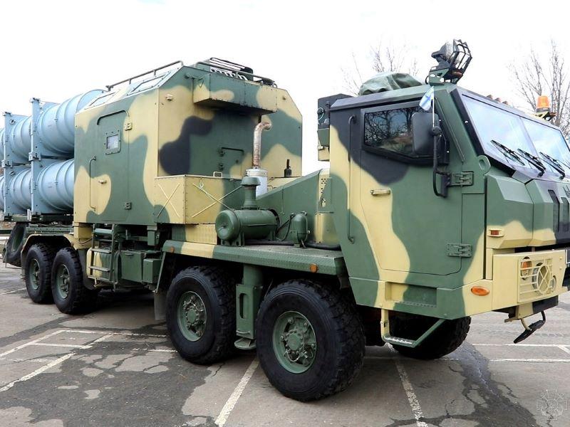 Ukrainian navy coastal defence system