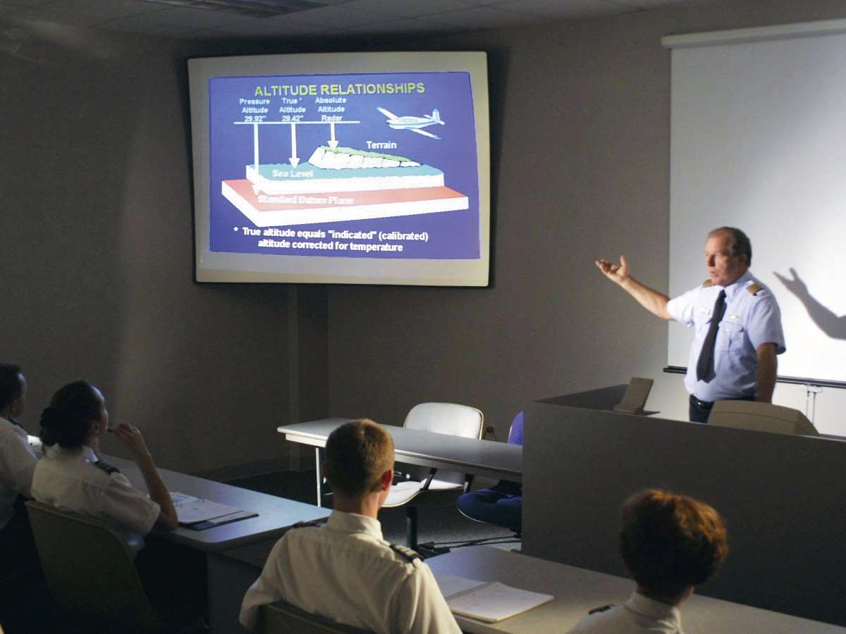 Campus classroom flightsafety academy