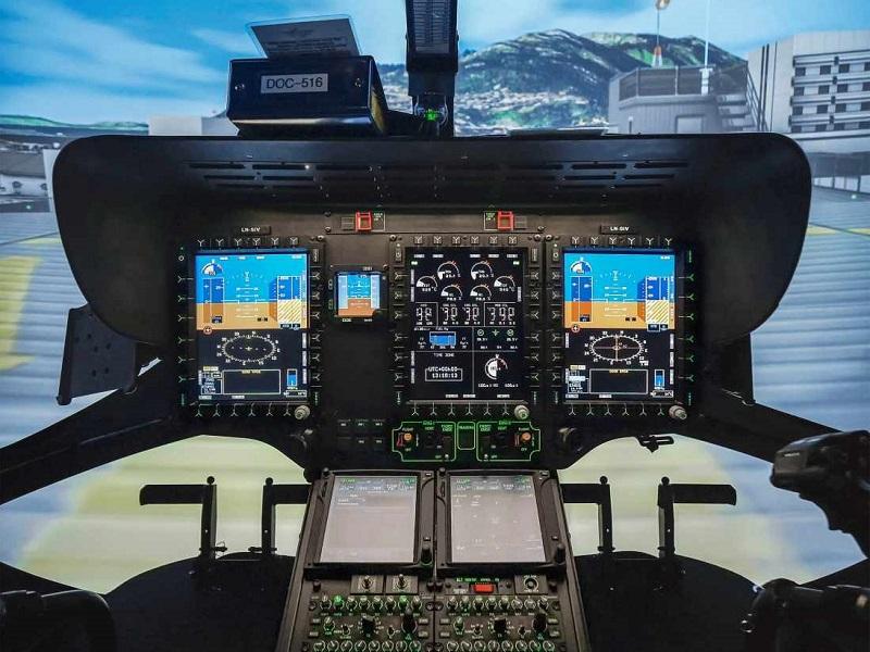 Level full flight simulator 33389486