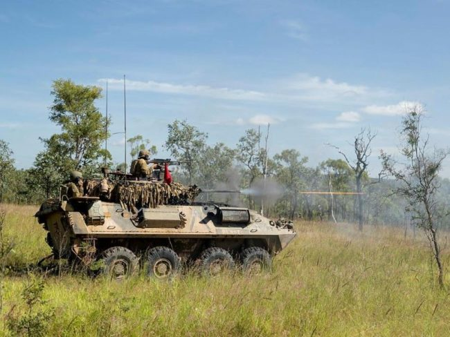 Australian Army Brogna Crawl