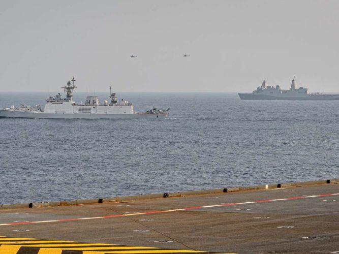 Indian Ocean naval exercise