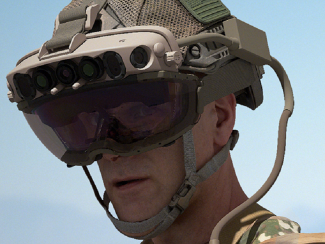 Army-Microsoft Headset Jolts to Production