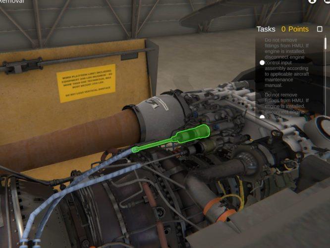 Pinnacle Solutions UH-60M Virtual Maintenance Trainer (VMT) Global Aerospace Logistics (GAL)