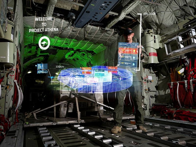 Raaf ar for virtual operations room